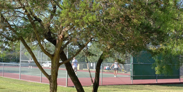 Ash Tennis Court, White Bluff Resort