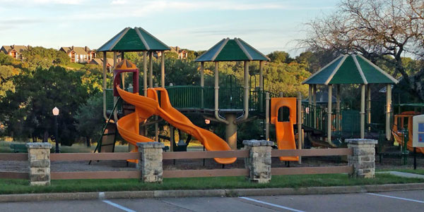 Playground, White Bluff Resort